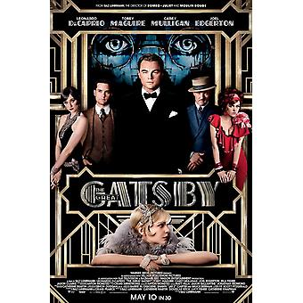The Great Gatsby Poster Double Sided  (2013) Original Cinema Poster