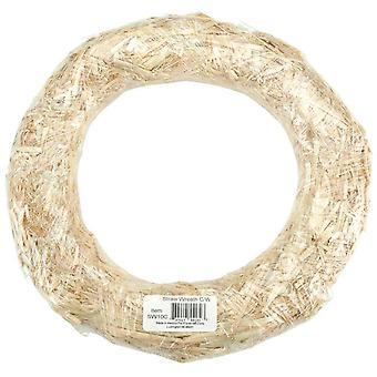 Straw Wreath 8