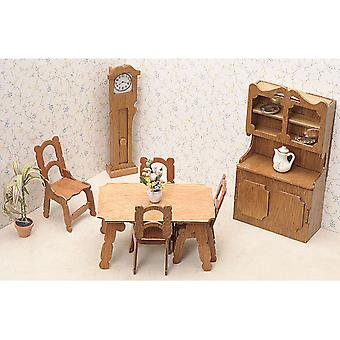 Dollhouse Furniture Kit Dining Room 72G 02