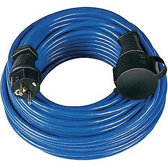 Current Extension cable [ PG rubber plug - PG rubber connector] Blue 25 m Brennenstuhl 1169820