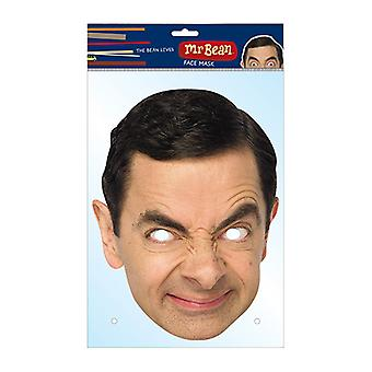 Mr Bean Official Card Party Face Mask