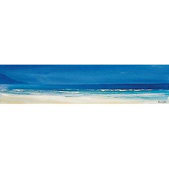 Ronnie Leckie print - Aqua Blues 2