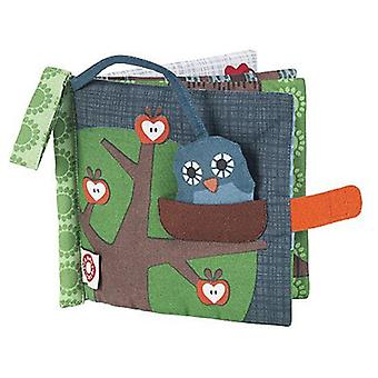 Franck & Fischer Owl cloth book (Toys , Preschool , Babies , Early Childhood Toys)