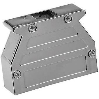 D-SUB housing Number of pins: 9 Plastic, metallised 45 °, 45 ° Silver Provertha 07090M4V001 1 pc(s)