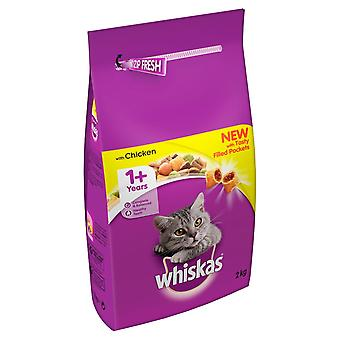 Whiskas Dry With Chicken 2kg