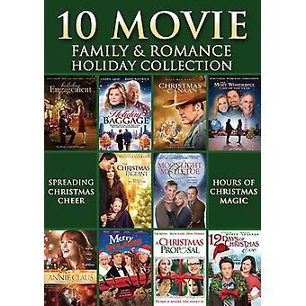 10 film familie & Romantik ferie samling [DVD] USA import