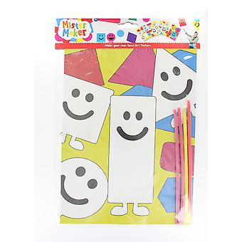 Children's Arts & Crafts Mister Maker Make Your Own Sand Art Sheet - Rectangle