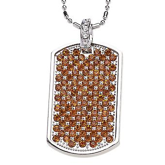 Full Iced Out Bling Baller Dog Tag - Gold