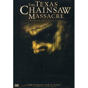 Texas Chainsaw Massacre [DVD] USA importen