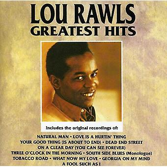 Lou Rawls - Greatest Hits [CD] USA import