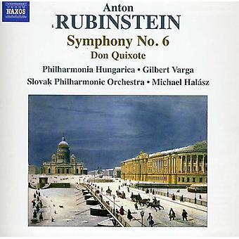 A. Rubinstein - Anton Rubinstein: Symphonie n ° 6 [CD] USA import