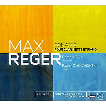M. Reger - Reger: Sonates Pour Clarinette Et Piano [CD] USA import