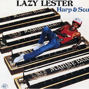 Lazy Lester - Harp & Soul [CD] USA import