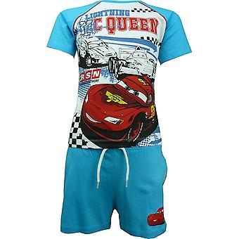 Boys Disney Carsning McQueen T-shirt & Shorts Set