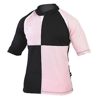GILBERT Xact Team Quartered Match Shirt [pink/black]