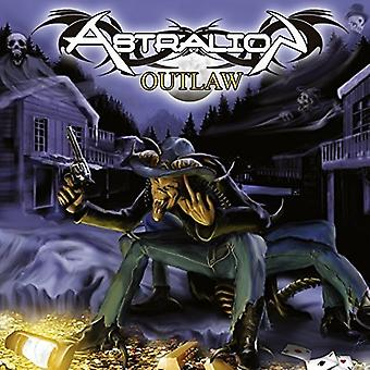Astralion - Outlaw [CD] USA importerer