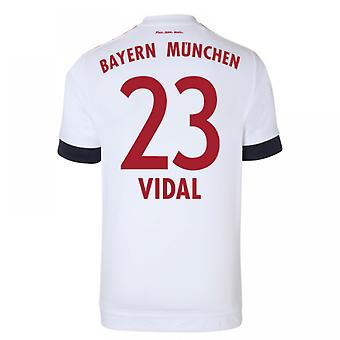 2015-16 Bayern Munich Away Shirt (Vidal 23)
