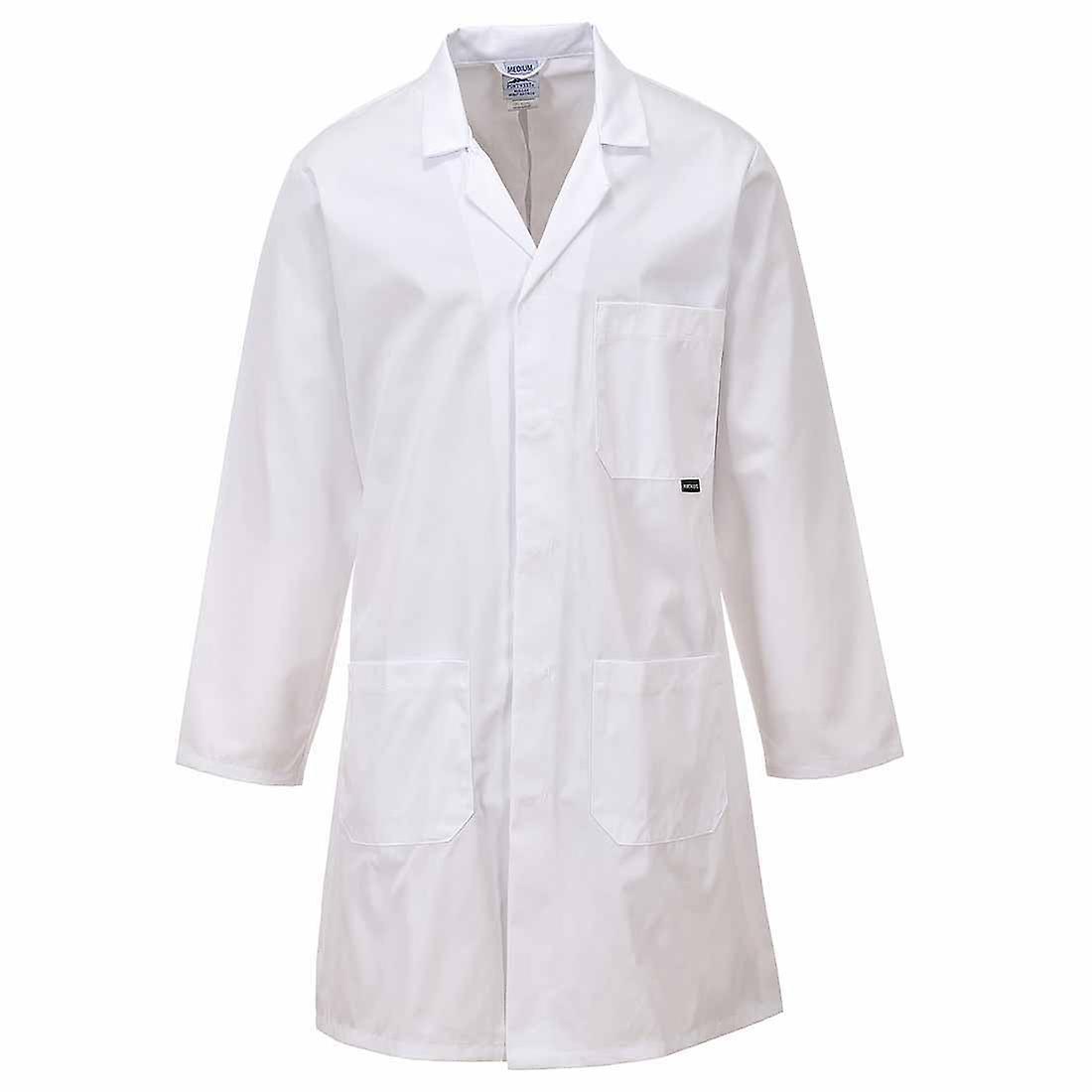 Portwest - Workwear Standard Lab - Medical-Food Prep Coat Polycotton