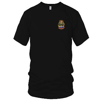 USMC Marines Aviation HMM-165 Bellcranks begrenzt - Vietnamkrieg gestickt Patch - Herren-T-Shirt