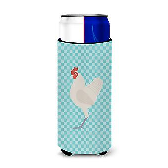 German Langshan Chicken Blue Check Michelob Ultra Hugger for slim cans