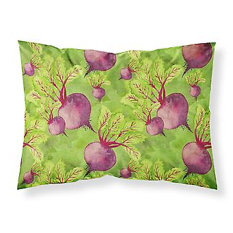 Watercolor Raddishes Fabric Standard Pillowcase