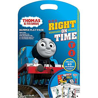 Thomas & Friends Bumper Play Pack - Colouring Pad , Pencils and Sheets