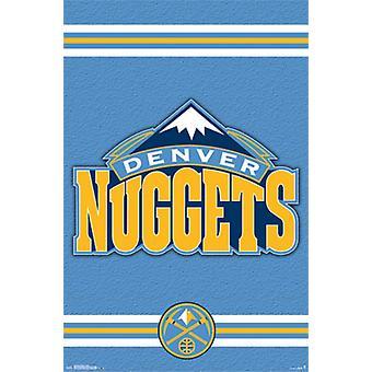 Denver Nuggets - Logo 2014 plakat plakat Print