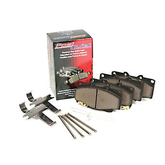Centric 105.0536 Posi-Quiet Ceramic Brake Pad with Shims