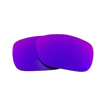 Replacement Lenses Compatible with OAKLEY TWOFACE Polarized Deep Purple Mirror