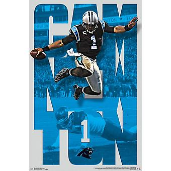 Carolina Panthers - Cam Newton 16 Poster drucken