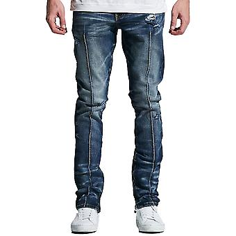 Verfraaien van NYC Paul Denim Jeans Indigo