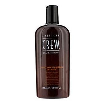 American Crew Men Daily Moisturizing Shampoo (For All Types of Hair) - 450ml/15.2oz