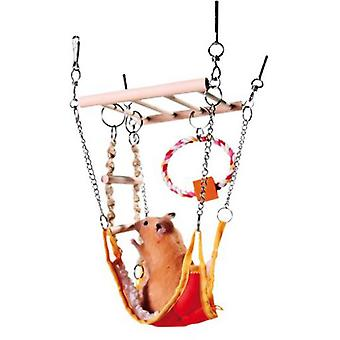 Trixie Suspension Bridge with Hammock (Small pets , Cage Accessories , Bridges & Stairs)