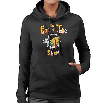 Ren und Stimpy den Finn und Jake Show Abenteuer Zeit Damen Sweatshirt mit Kapuze