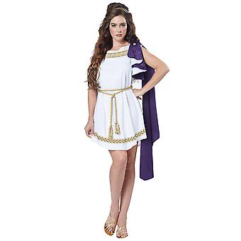 Grecian Toga Greek Roman Aphrodite Goddess Ancient Party Dress Up Womens Costume