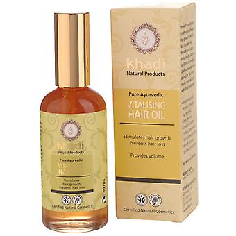 Khadi Aceite capilar revitalizante y anticaída 100 ml (Hair care , Moisturizing oils)