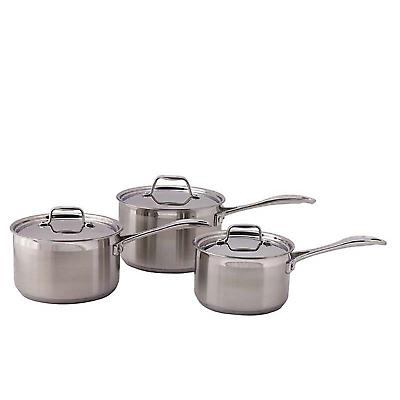 Swift Supreme 3 Piece Saucepan Set 12118034