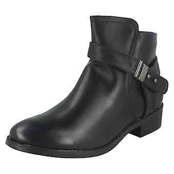 Damen-Spot auf niedrigen hochhackige Ankle Boots F50328
