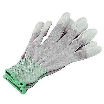 Antistatische Carbonfaser-Handschuhe /PU beschichtete Handschuhe