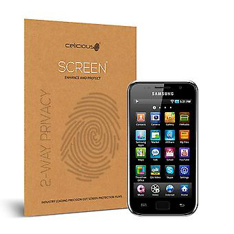 Celicious Privacy 2-Way Anti-Spy Filter Screen Protector Film Compatible with Samsung Galaxy S