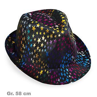 Colorful stelle signor cappello cappello trilby