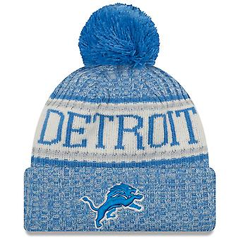 New era NFL sideline 2018 Bobble Hat - Detroit Lions