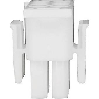 TE Connectivity Pin enclosure - cable Universal-MATE-N-LOK Total number of pins 6 0-0350715-1 1 pc(s)