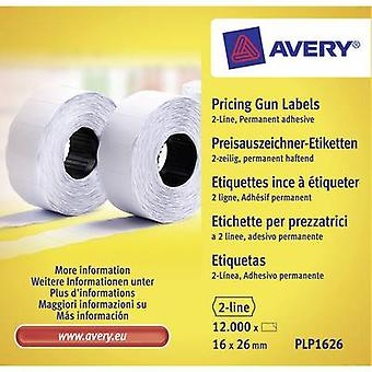Avery-Zweckform PLP1626 White 12000 pc(s)
