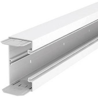 Trunking (L x W x H) 2000 x 70 x 130 mm OBO Bettermann 6274500 2 m Pure white