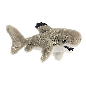 Black Tipped Shark Mini Flopsie Stuffed Animal by Aurora