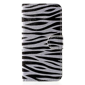 iPhone X-Wallet Case-Zebra