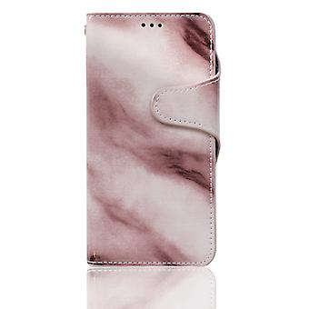 Wallet case marble - iPhone 7/8 plus