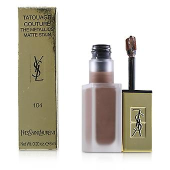 Yves Saint Laurent Tatouage Couture de Metallics - # 104 Rose Gold rel - 6ml/0.2 oz