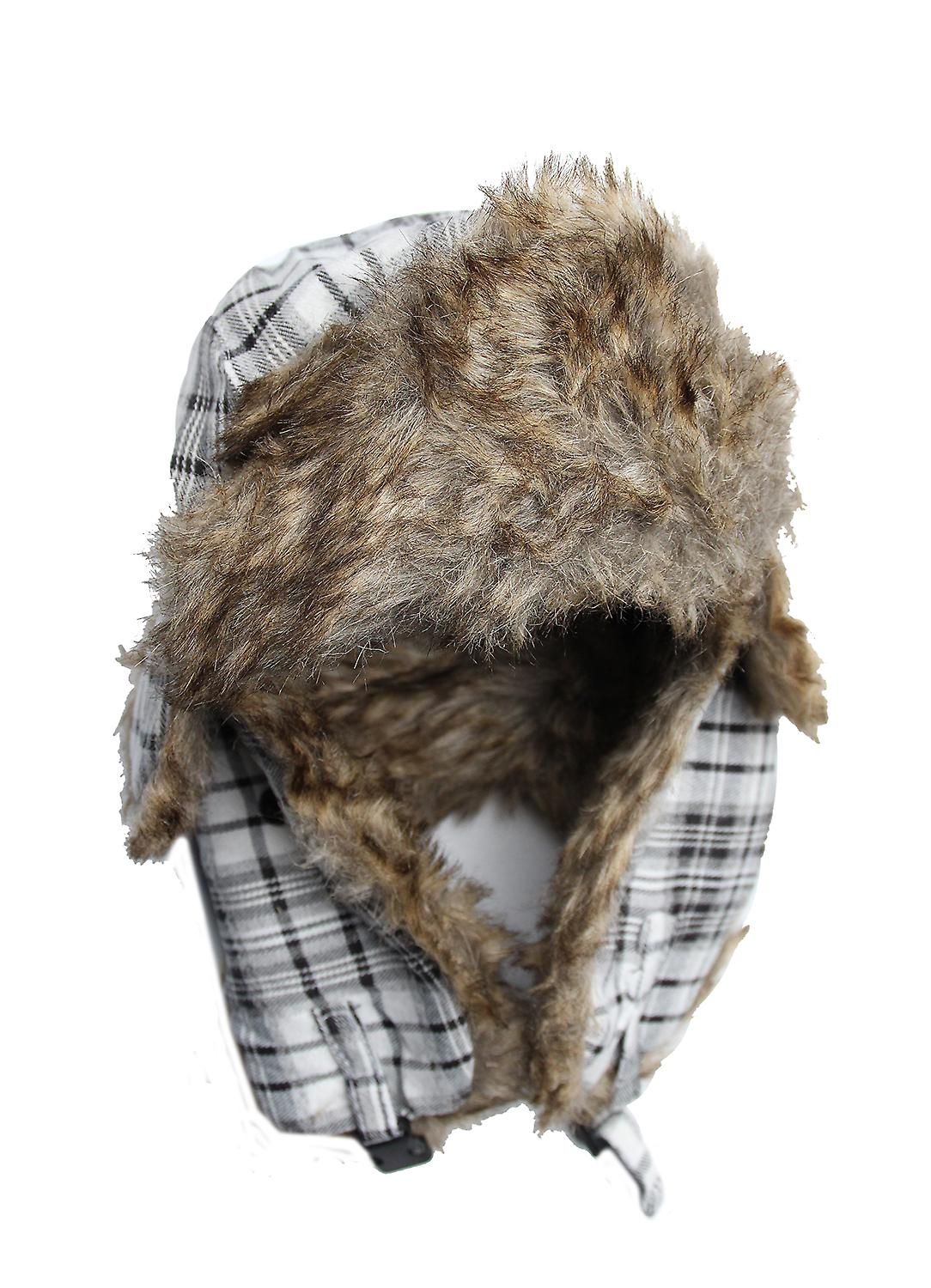 Waooh - Fashion - Plaid Trapper Hat